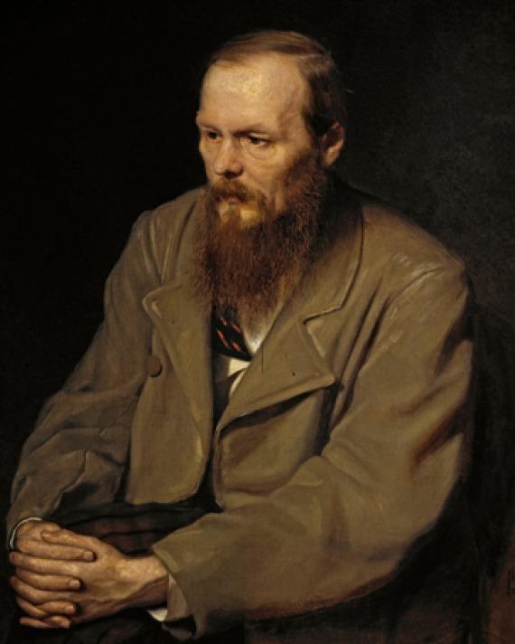Portrait of Fyodor Dostoevsky