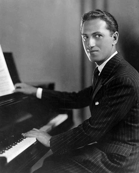 American composer George Gershwin.