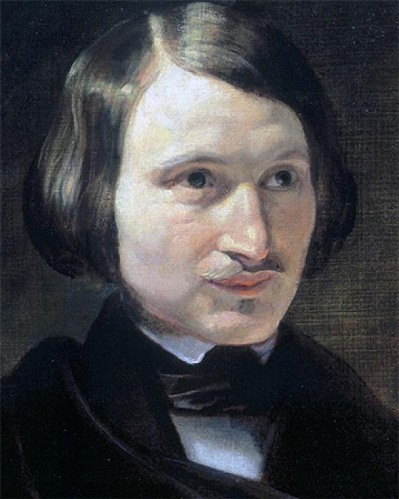 Ukrainian-born Russian novelist Nikolai Gogol.