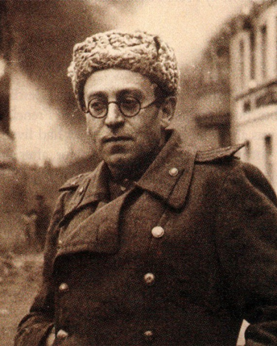 Photograph of Soviet Russian writer and journalist Vasily Grossman.