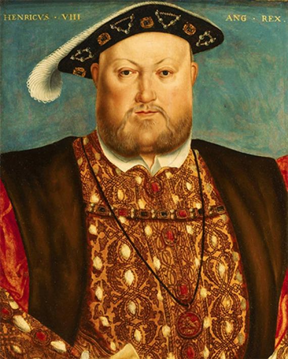King of England Henry VIII.