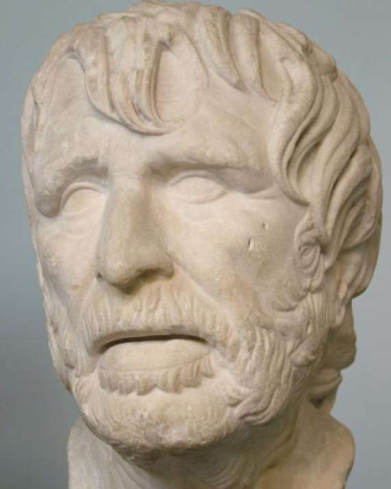 Bust of Hesiod