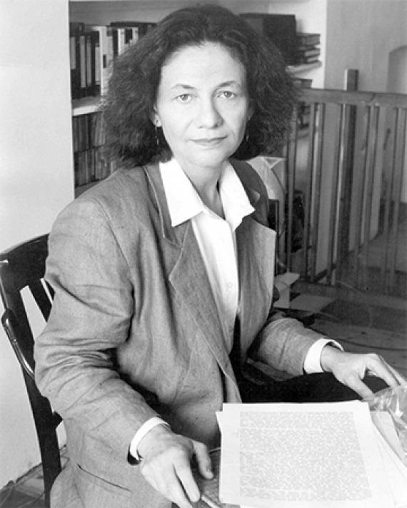 Polish American writer and academic Eva Hoffman.