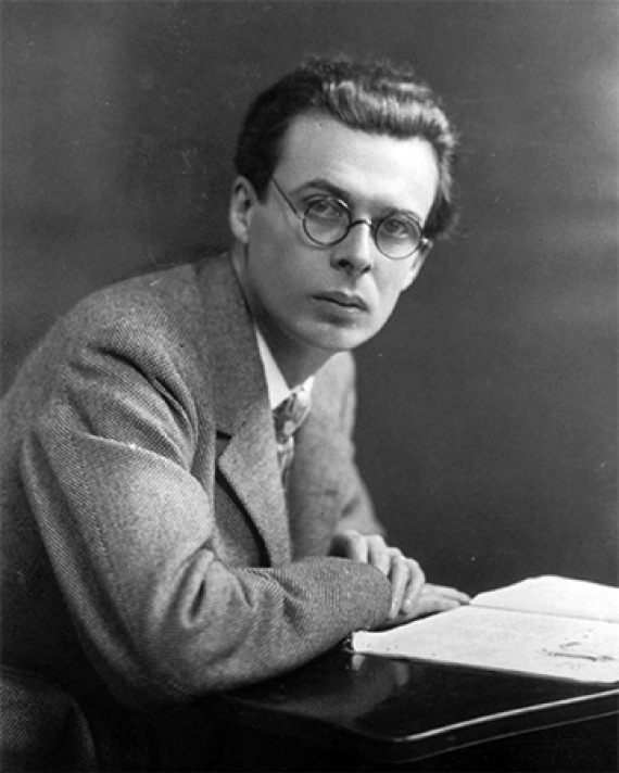 British author Aldous Huxley.