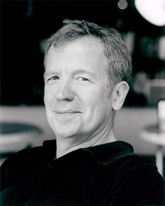 American author and journalist Jamie James.