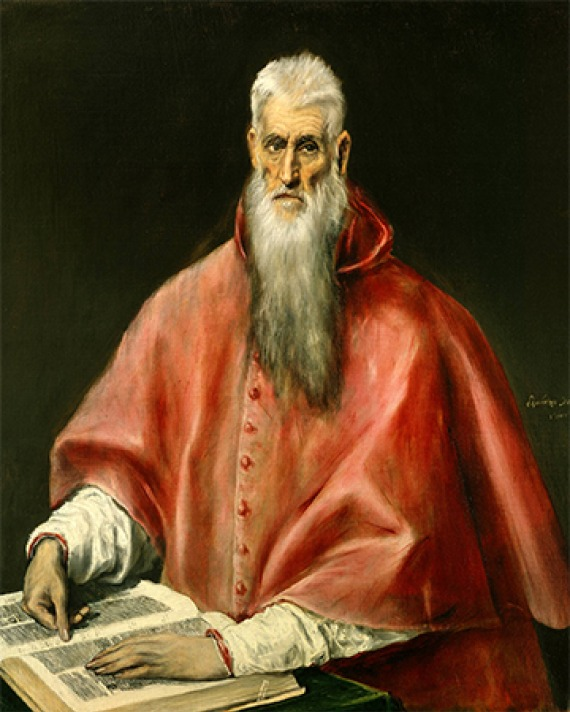 Christian scholar St. Jerome.