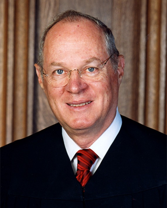 Photograph of U.S. Supreme Court justice Anthony Kennedy.