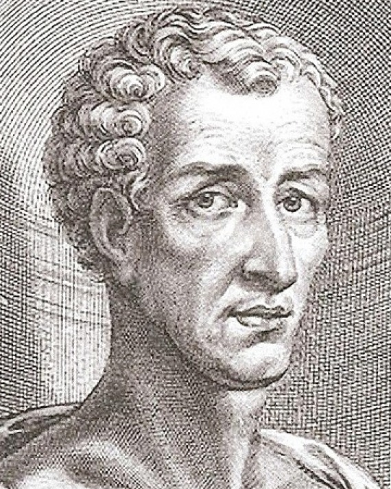 Engraving of Greek satirist Lucian.