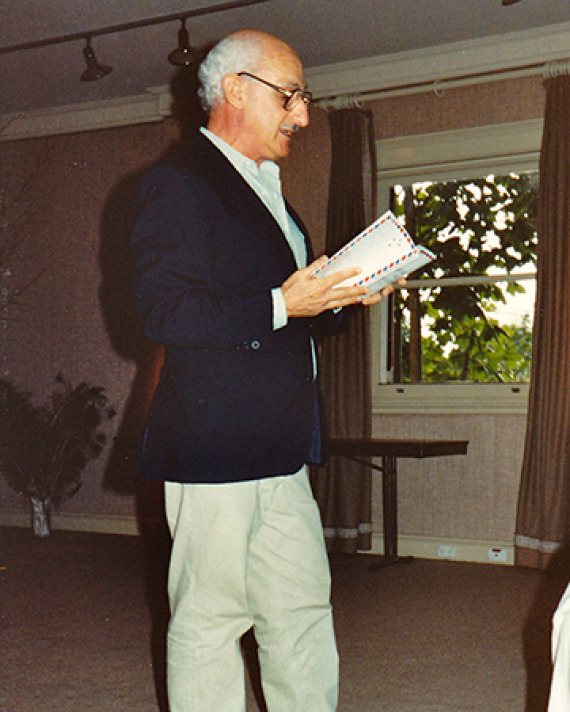 David Malouf. Photograph by Gerald Ganglbauer.