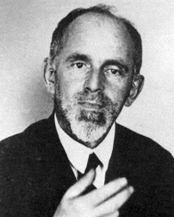 Photograph of Russian poet and critic Osip Mandelstam.