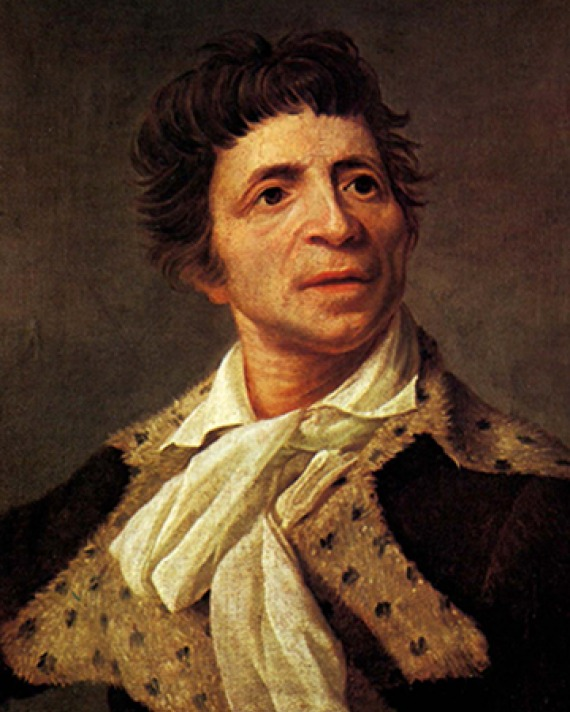 French politician, physician, and journalist Jean-Paul Marat.