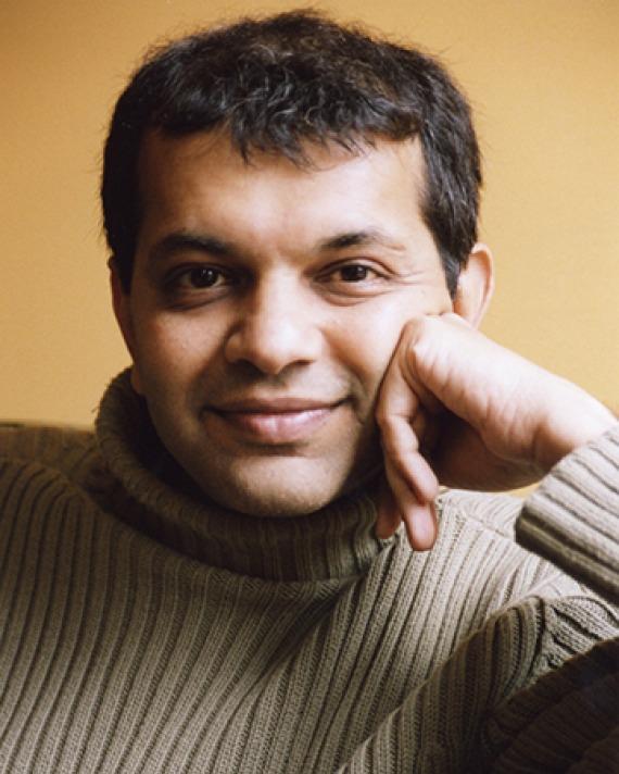 New York-based author Suketu Mehta.