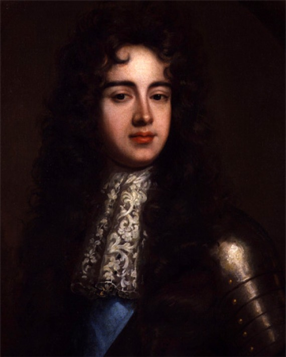 Portrait of claimant to English throne James Scott, Duke of Monmouth.