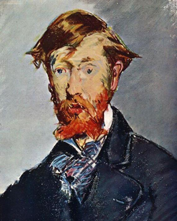 Irish writer George Moore.