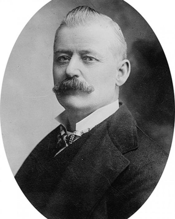 American politician from New York George W. Plunkitt.