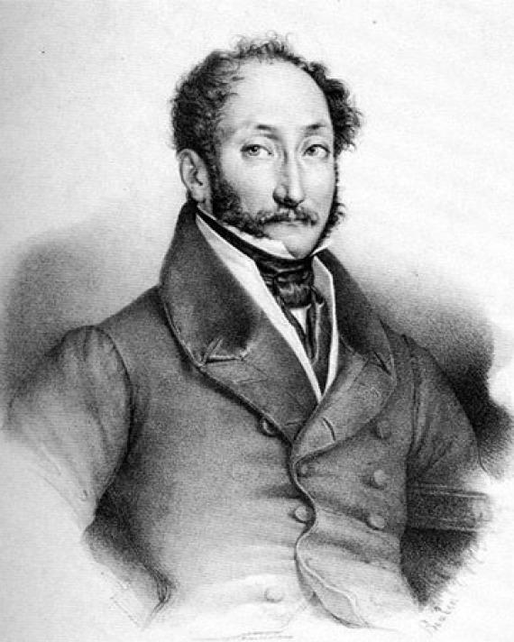 Italian poet and librettist Felice Romani.