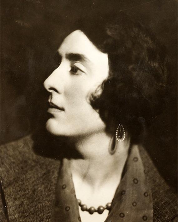 British writer Vita Sackville-West.