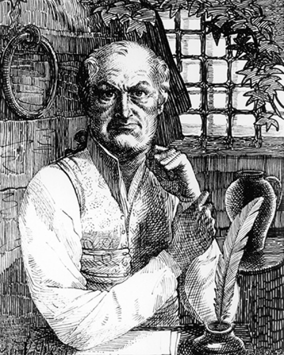 French author the Marquis de Sade.