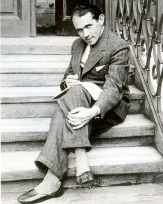 Photograph of Polish writer, artist, teacher, and critic Bruno Schulz.