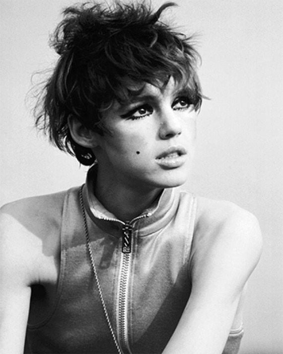 Socialite, actress, model, and Warhol superstar Edie Sedgwick.