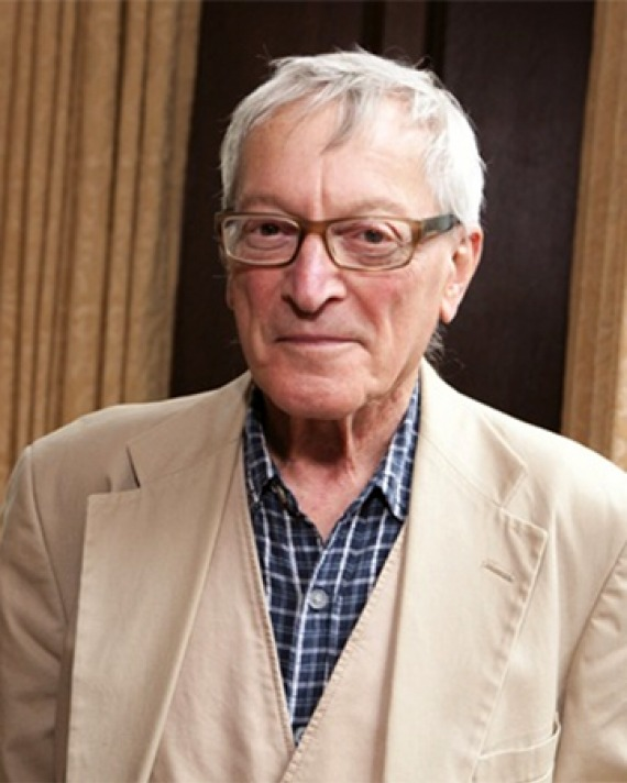 Surgeon and author Richard Selzer.