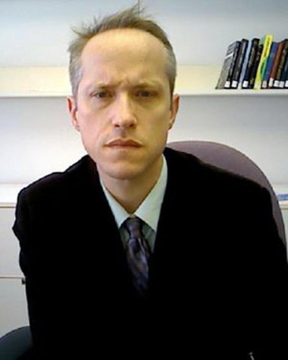 Professor and editor Justin E. H. Smith.