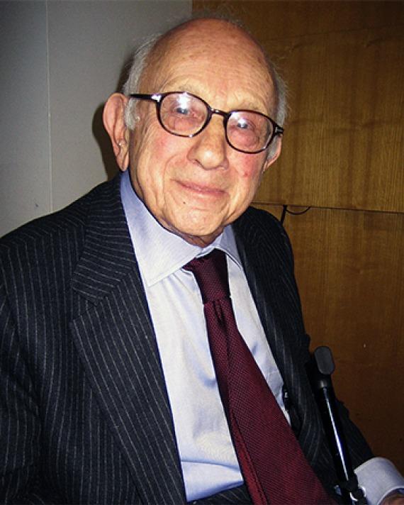 German-born American historian Fritz Stern.