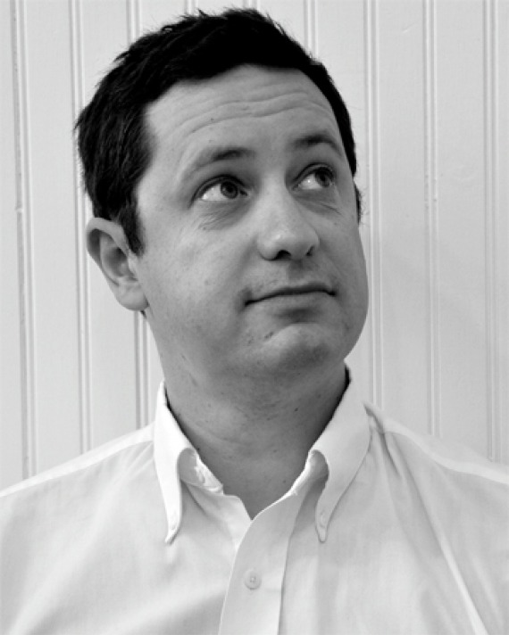 Photograph of English professor and author Andrew McConnell Stott.