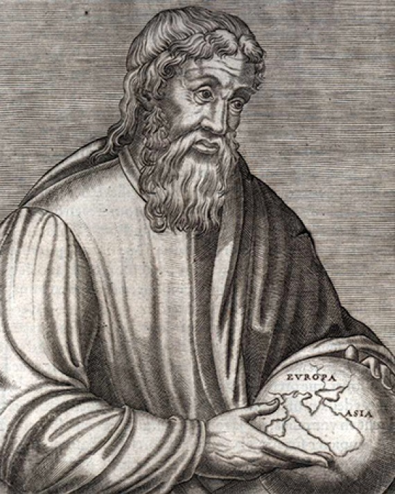 Greek geographer and historian Strabo.