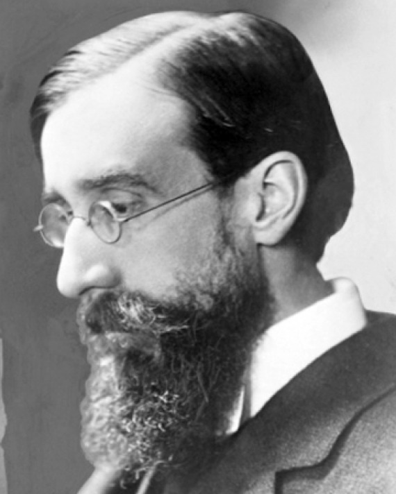 Black and white photograph of English writer and critic Lytton Strachey.