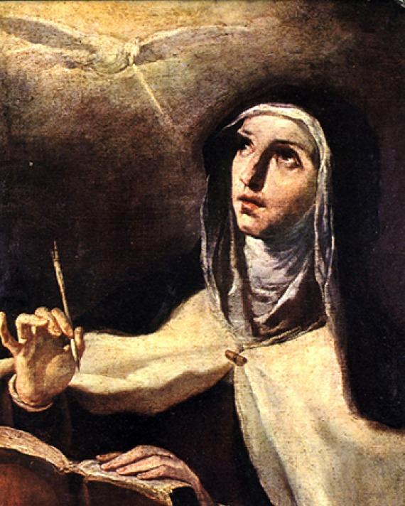 Saint Teresa of Ávila.