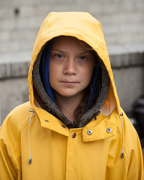 Photograph of Greta Thunberg by Anders Hellberg (CC BY 4.0)