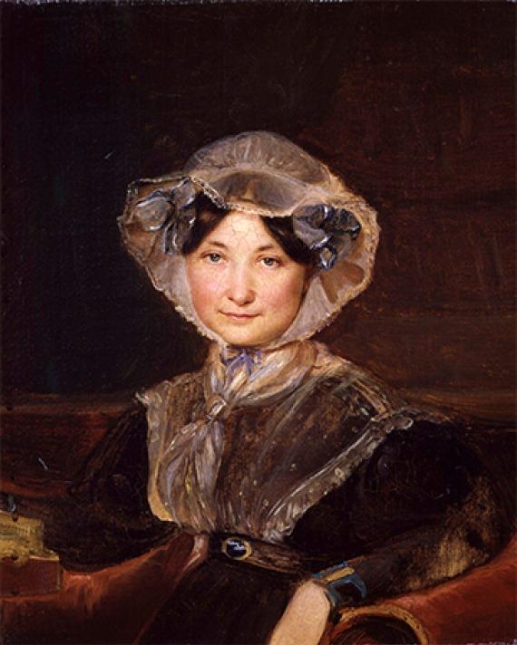 English novelist and writer Frances Trollope.