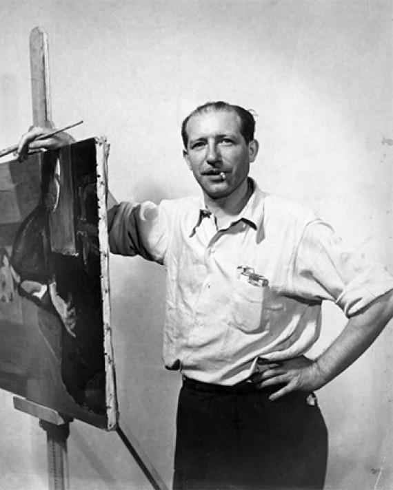 American artist Jack Tworkov.