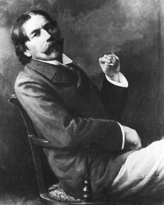 Photograph of Thorstein Veblen