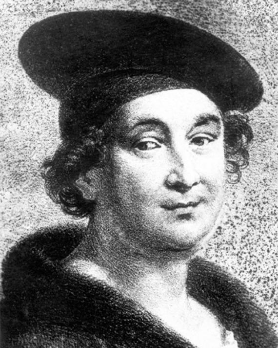 Image of French poet François Villon.