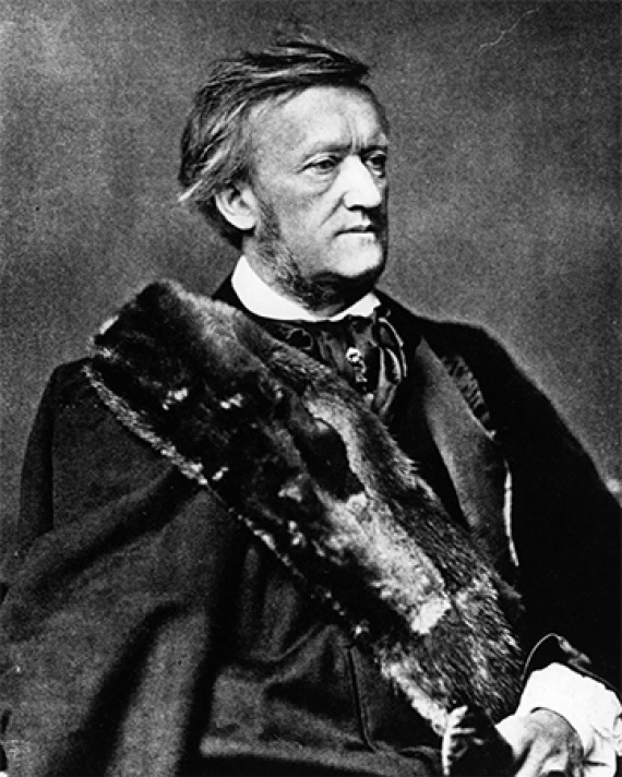 German composer Richard Wagner.