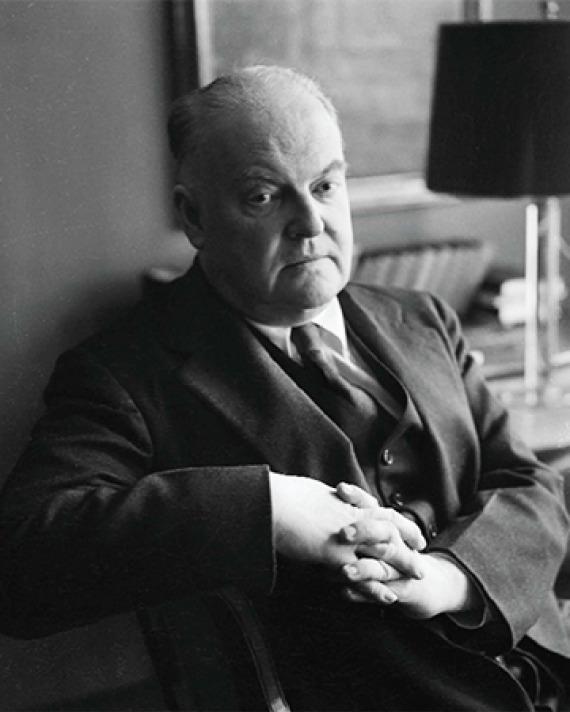 American critic Edmund Wilson.
