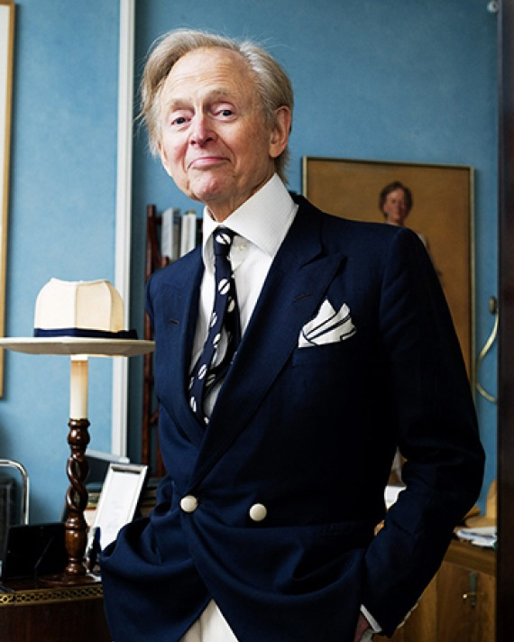 American author Tom Wolfe.