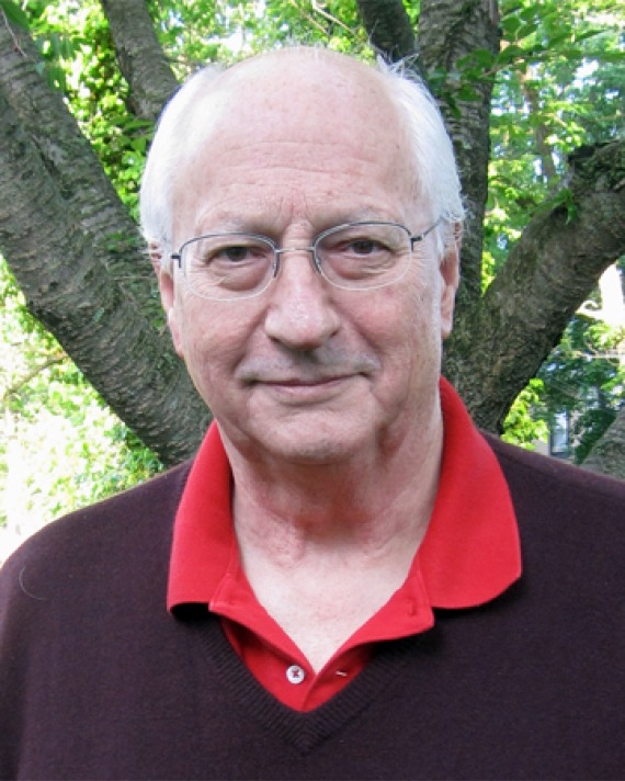 Color photograph of Princeton professor of English and Comparative Literature Michael Wood.