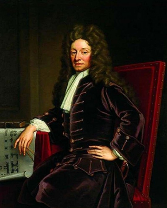 English architect Christopher Wren.