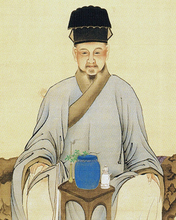 Chinese tea writer Lu Yu.