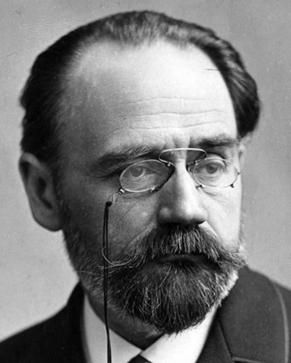 French author Émile Zola.