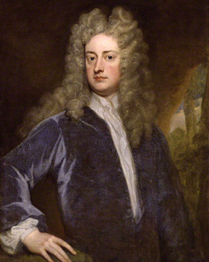 English essayist, poet, and dramatist Joseph Addison.