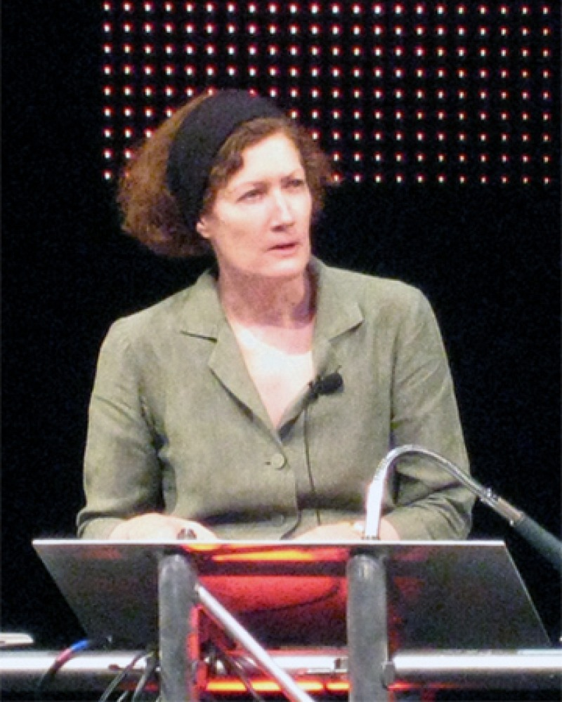 Author and journalist Caroline Alexander.