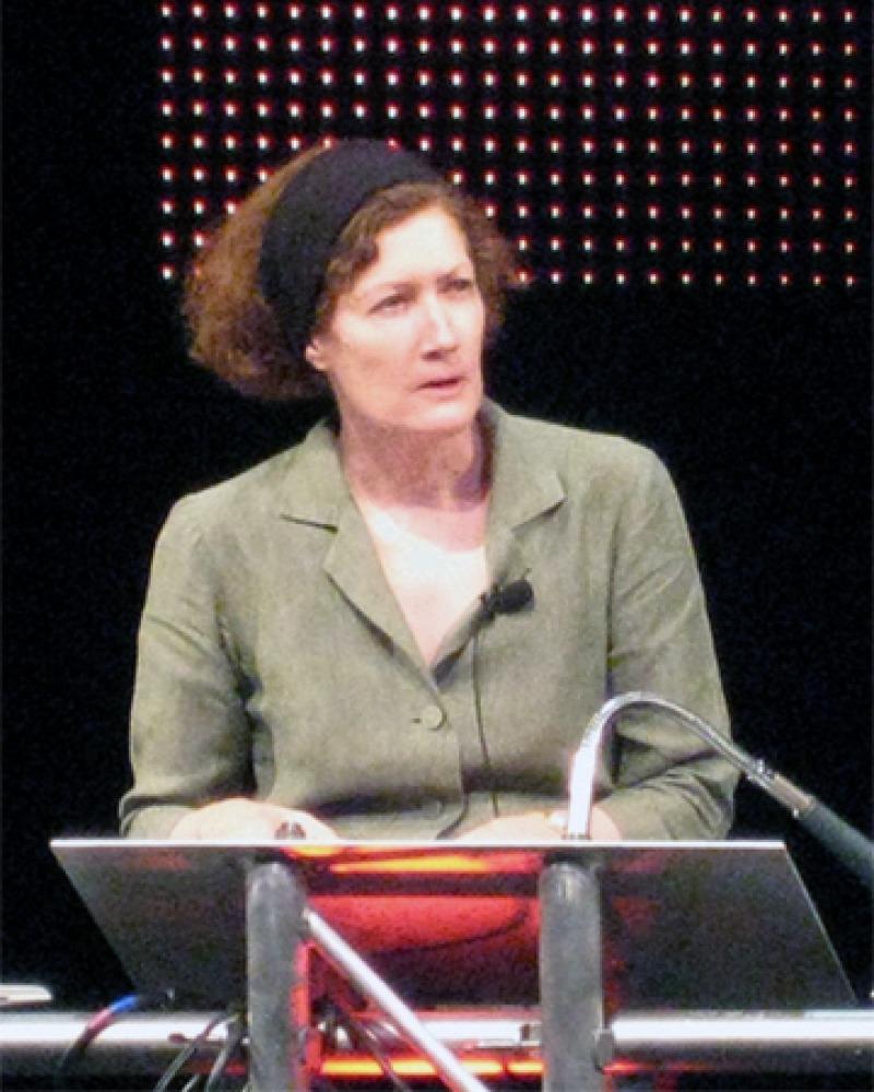 Author and journalist Caroline Alexander.