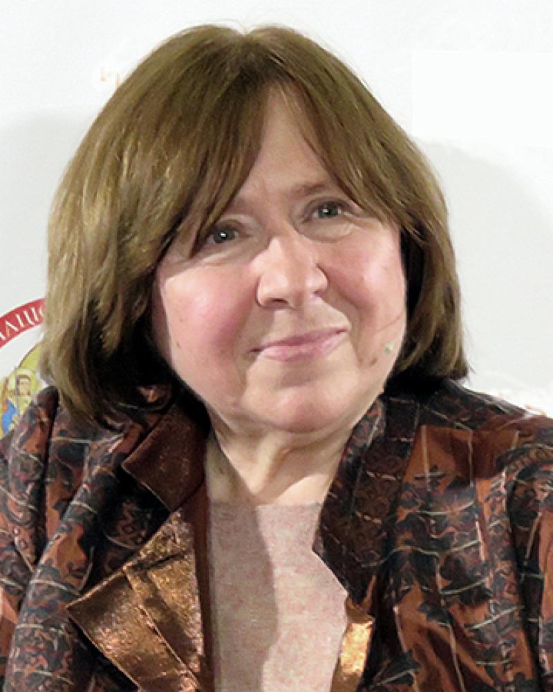 Svetlana Alexievich.Sergento (CC BY-SA 4.0)