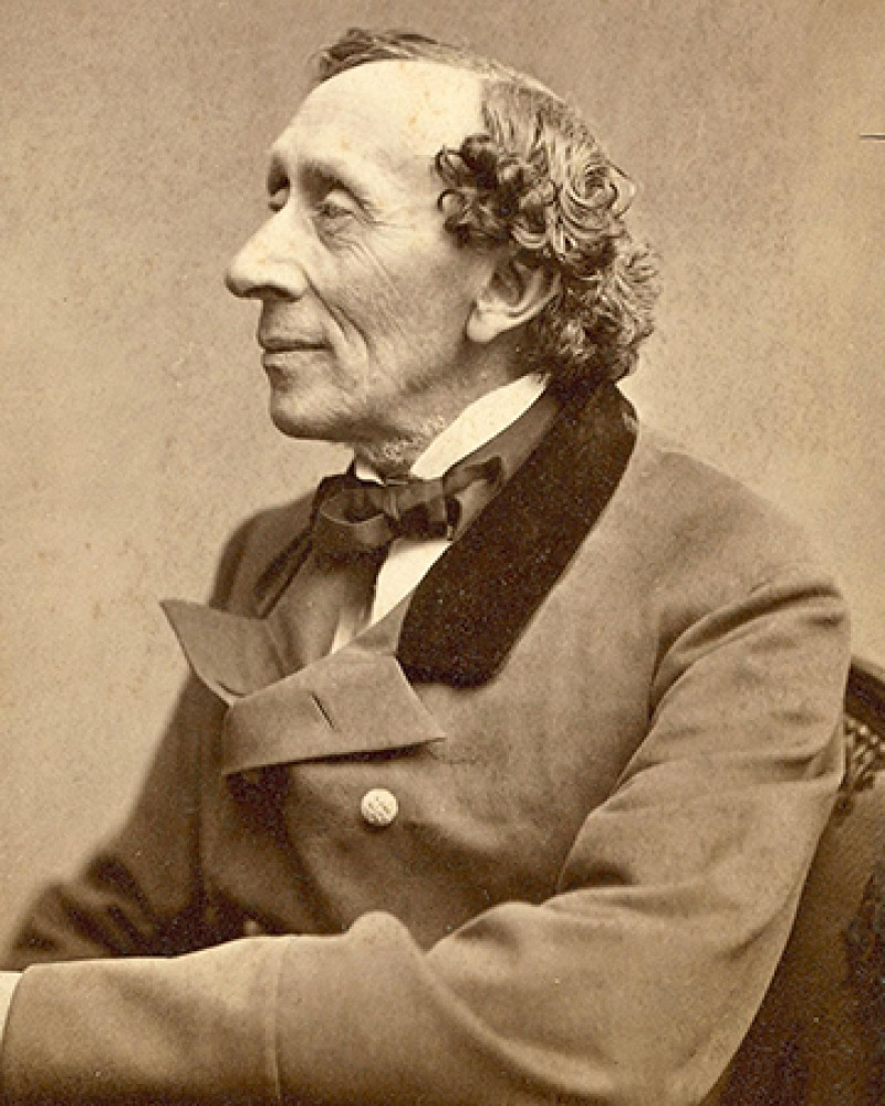 Danish author Hans Christian Andersen