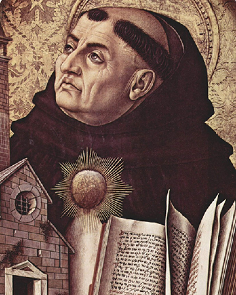 Italian Christian theologian and philosopher Thomas Aquinas.