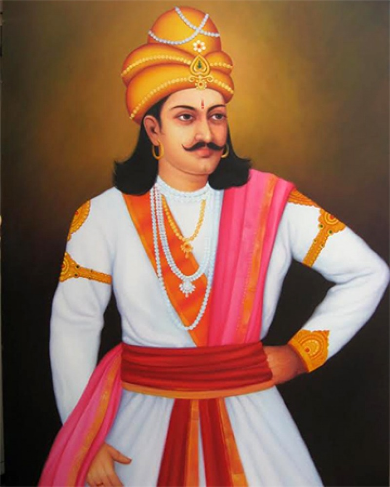 Emperor of India Ashoka.